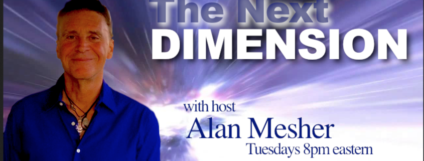 The Next Dimension Radio Show Promotion